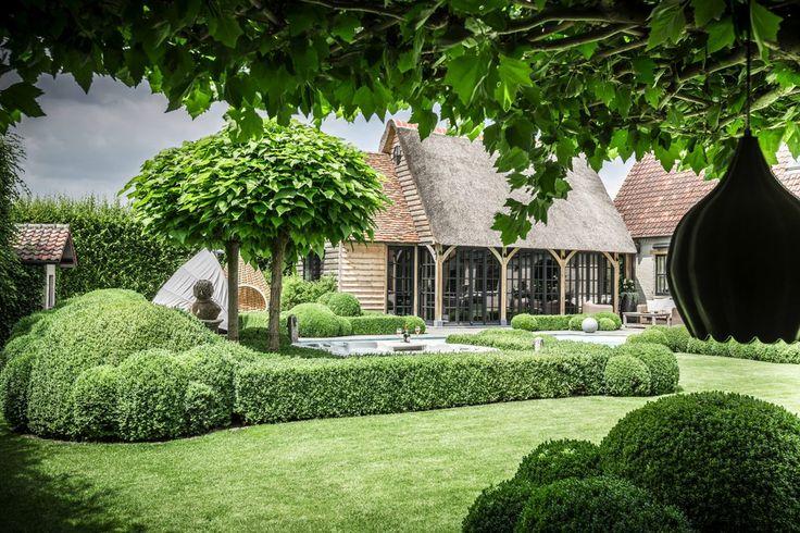 Timber Works exclusieve houtconstructies - Eikenhouten tuinkamer - Hoog ■ Exclusieve woon- en tuin inspiratie.
