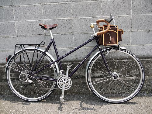 """Chrissy's Toei Mixte, """"A Touring Bicycle"""" Final Build by WillJL, via Flickr"""