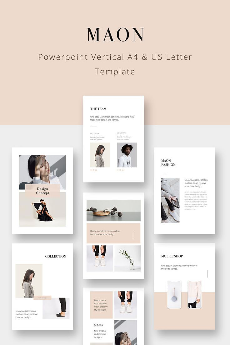 Maon Vertical Powerpoint Template 75344 Presentation