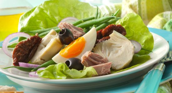Lettuce Cups with Nicoise Style Salad Recipe