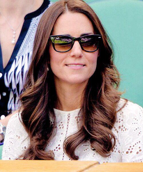 The Duchess of Cambridge at Wimbledon today
