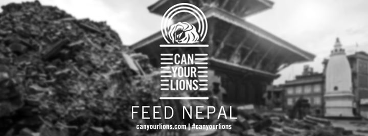 We're going to 'can our Lions' this year to feed Nepal. This means that for every Lion we win, we will donate $1,280 for every bronze, silver and gold awarded.  For a Grand Prix, it's $2,906. With a total of 11 Lions picked up at tonight's awards ceremony, that means we start off with $14,080.Will you join us? Find out more at http://canyourlions.com Pledge your support by tweeting #canyourlions