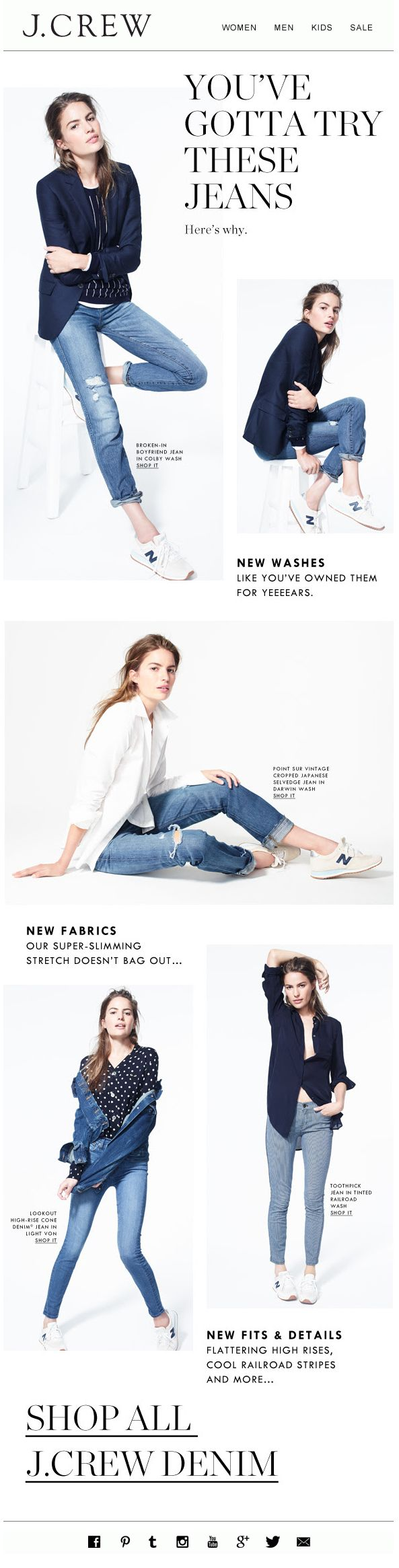 J.CREW : Product Feature