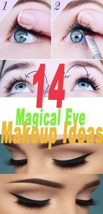 14 Magical #Eye #Makeup Ideas  #beautymakeup #beautyhacks #skincare,
