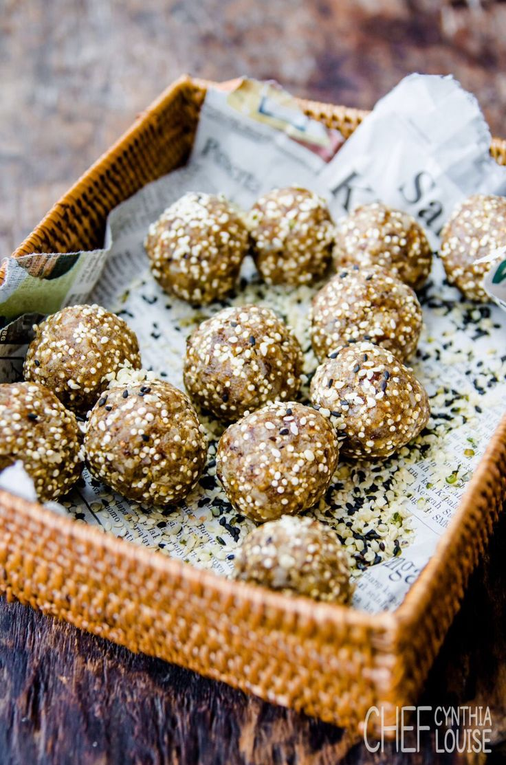 Balls of epic glory ...make these weekly so easy and so yummy...weight loss never came so easy