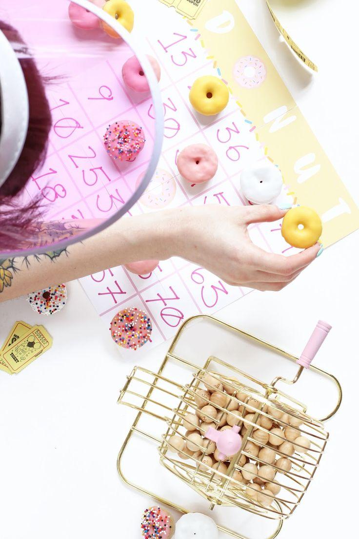 Aww, Sam: Mini Donut Game Night + Printables