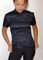 Blusa Vestido Oriental Quipao - Cómo se hace