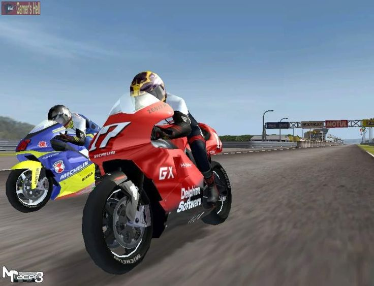 Moto Racer 3 Video Game Snapshot