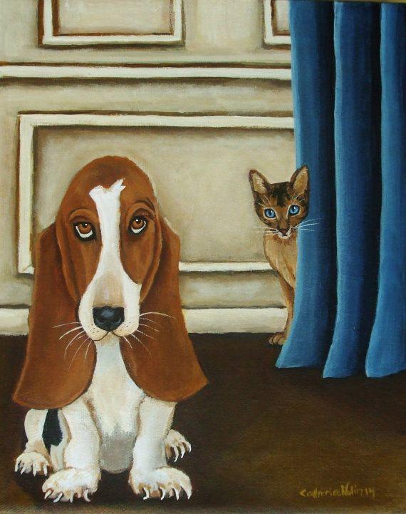 Still Life Animal Painting Climb Every by CatherineNolinArt, $295.00