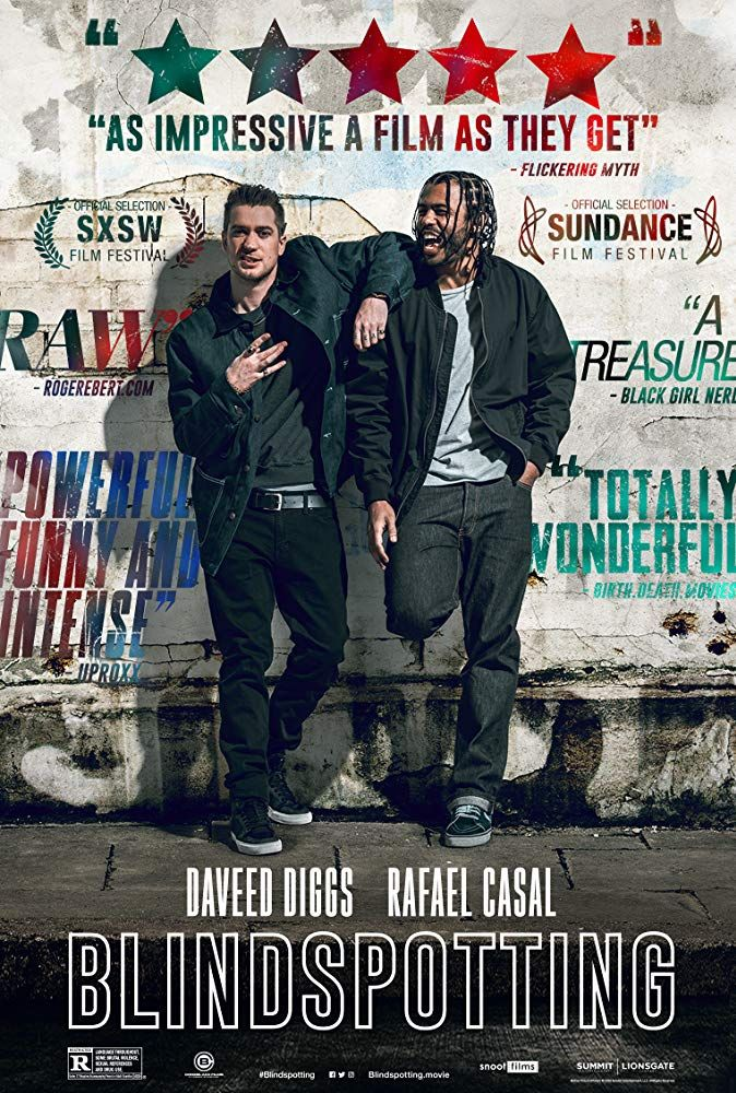 Rafael Casal And Daveed Diggs In Blindspotting 2018 Comedy Movies Summer Movie Daveed Diggs