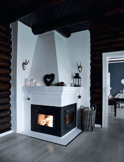 A cosy Danish cabin ready for Christmas