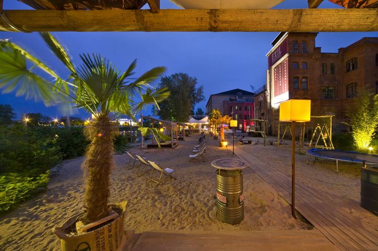 Sage Restaurant Berlin has a beach bar that rivals any med destination, beautiful location with beautiful people and Balearic beats