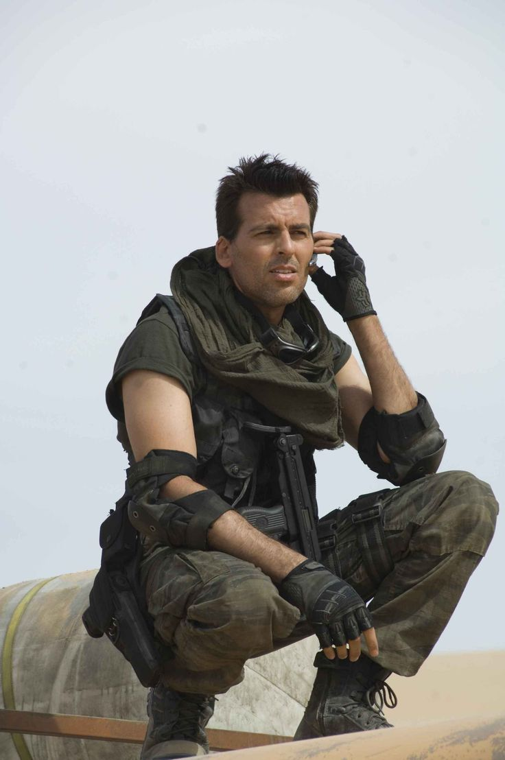 Call Me Maybe!? Oded Fehr as Carlos Olivera (Resident Evil)