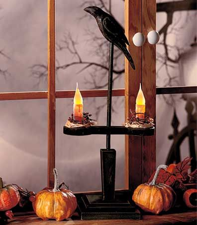 This Country Primitive Halloween Decor has the look of a craft fair find that is perfect for decorating your home. We are you halloween store online for all your decorating needs #halloween #fall