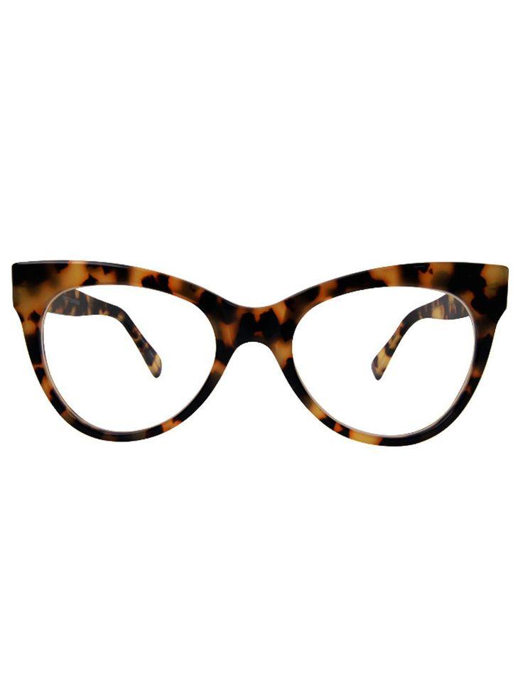 Cats Eye Tortoiseshell Prescription Glasses