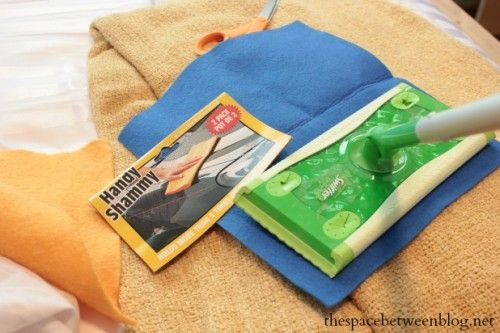 diy swiffer cloths - the space between