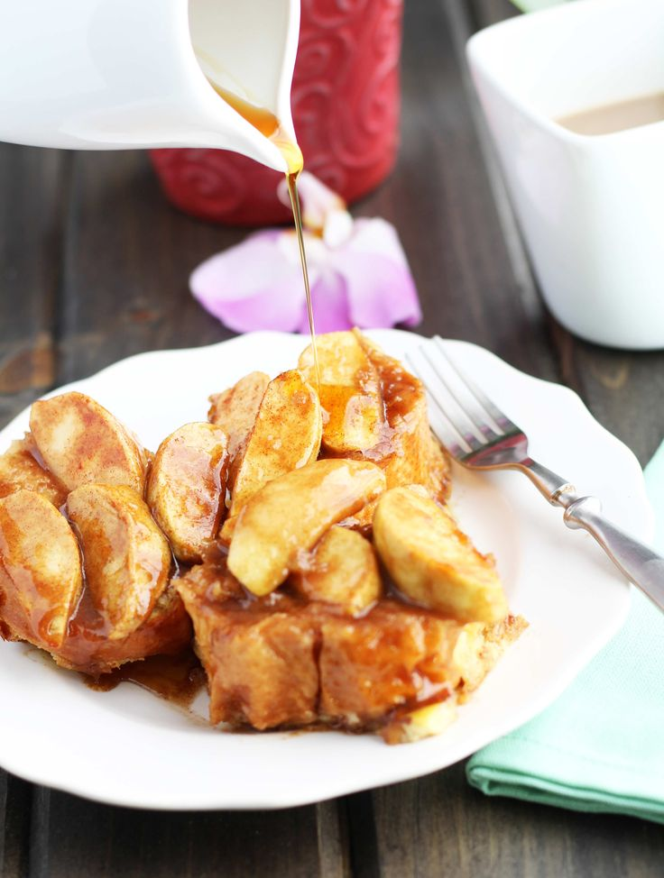 I'm breaking out the big guns today with this overnight Apple French Toast Casserole recipe with a warm, brown sugar, butter and cinnamon sauce! It is my family's favorite breakfast recipe of all time. A generous heaping of Granny Smith apples gets coated with a light dusting of cinnamon and sugar before baking it in...Read More »