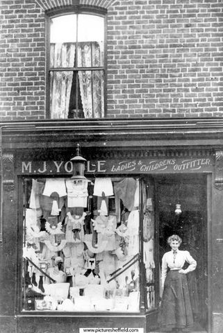 M. J. Youle, ladies outfitter and draper, 157 London Road