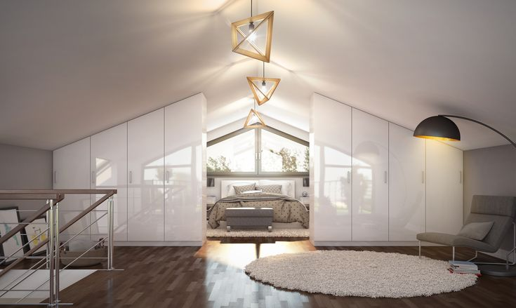 36 best Schlafzimmer images on Pinterest | Attic spaces, Bedroom ...