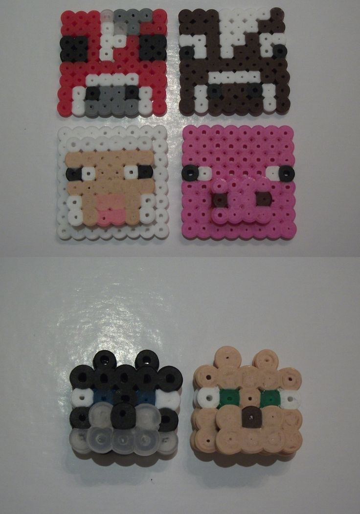 Minecraft Animals - Hama Beads