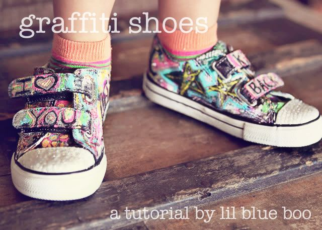 graffiti shoes!