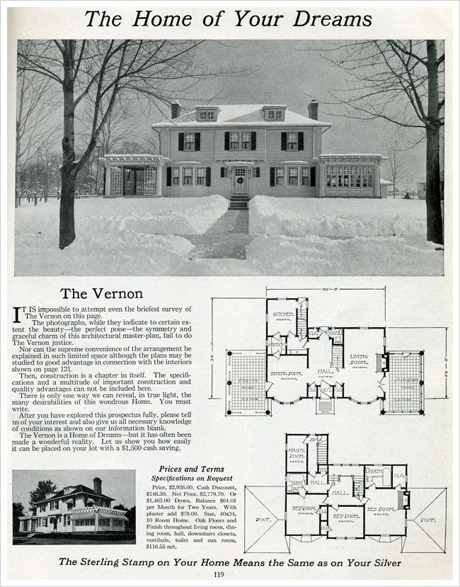 1916 Sterling Homes: The Vernon