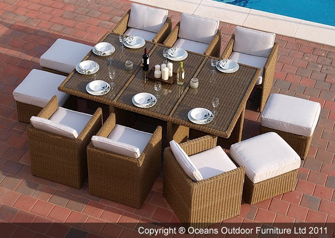 The Simple And Compact Design Of The Original Oceana™ Deluxe Cube, Designed  By Oceans. Garden Dining SetDining TableDining ...