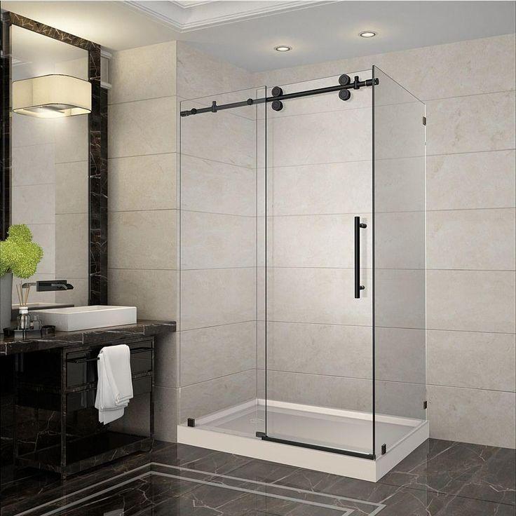 Frameless Sliding Shower Doors Tub top 25+ best fiberglass shower enclosures ideas on pinterest