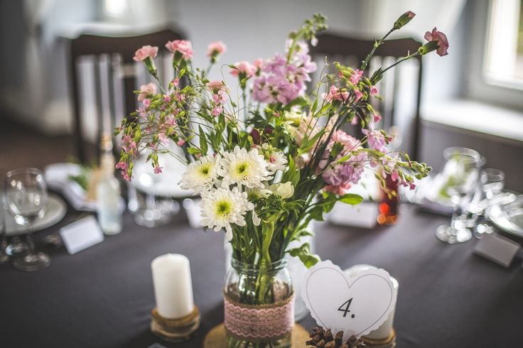 Bukiet na stole / bouquet on the table