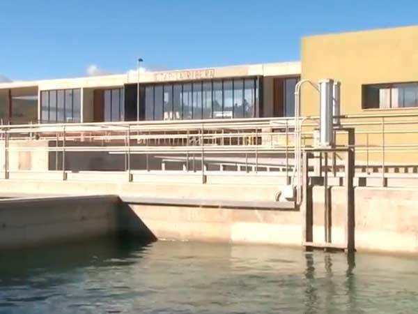 El agua de la planta potabilizadora de la Garrofera tiene sabor a tierra con un coste de màs de 70.000 €.