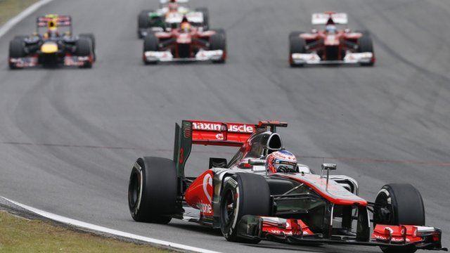 Sebastian Vettel wins his third F1 world championship for Red Bull