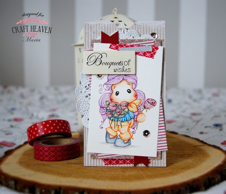 Lollyrot Scrapbooking: Bouquets of wishes