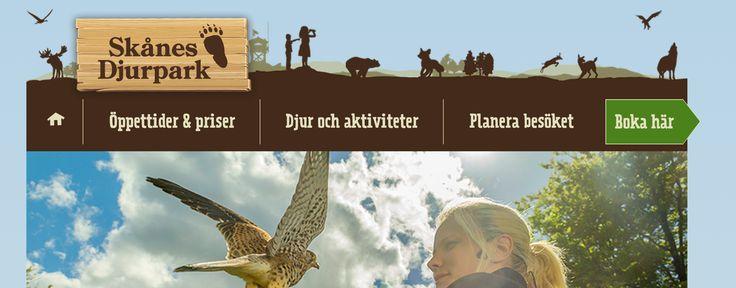 Skånes djurpark, världens största djurpark med nordiska djur, naturlekplats och vattenlek. Höor