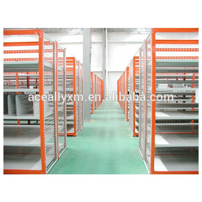 Medium weight bulk goods steel longspan shelving