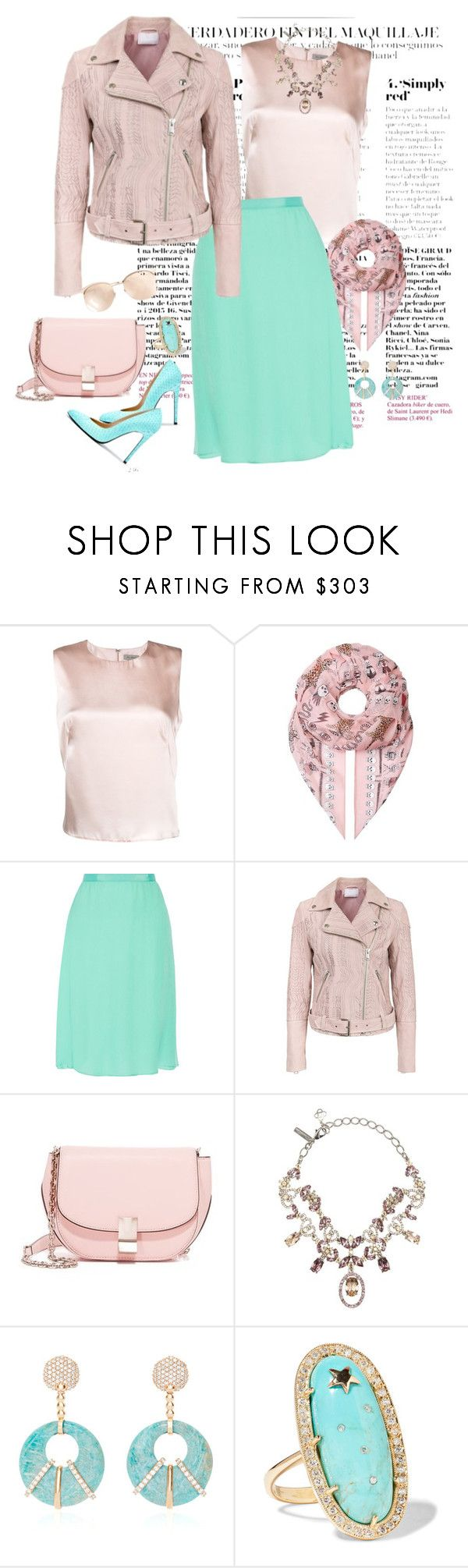 """E4"" by saltless ❤ liked on Polyvore featuring Alice Archer, Barbara Bui, Alexander McQueen, Oscar de la Renta, Lala Berlin, Flynn, Laura Pierson, Andrea Fohrman and Linda Farrow"