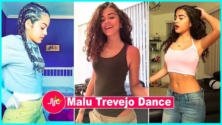 ♦ Best Malu Trevejo Dance Musical.ly Compilation 2017 - New Musically Vi...