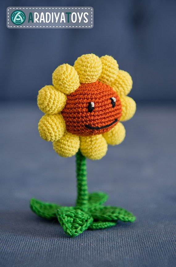 Amigurumi Crochet Difference : 12 best Crochet Plants V Zombies images on Pinterest