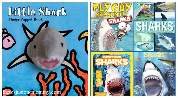 Whether you're looking for books that your own shark fan will enjoy, or you're looking for books to help celebrate Shark Week, these kids shark books are some of the best.
