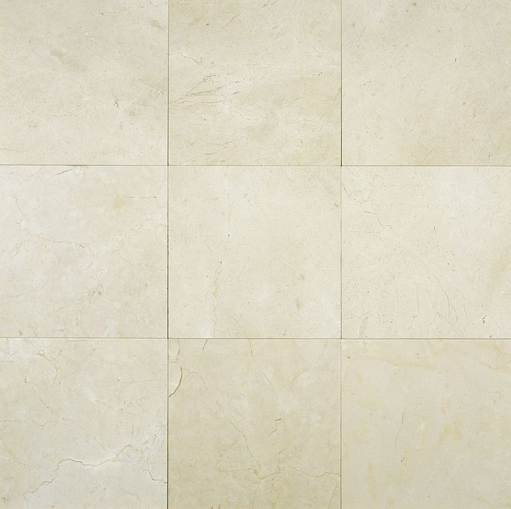 """Kitchen Tile Sketchup: Crema Marfil Classico 6x6"""" Marble Tile Polished"""