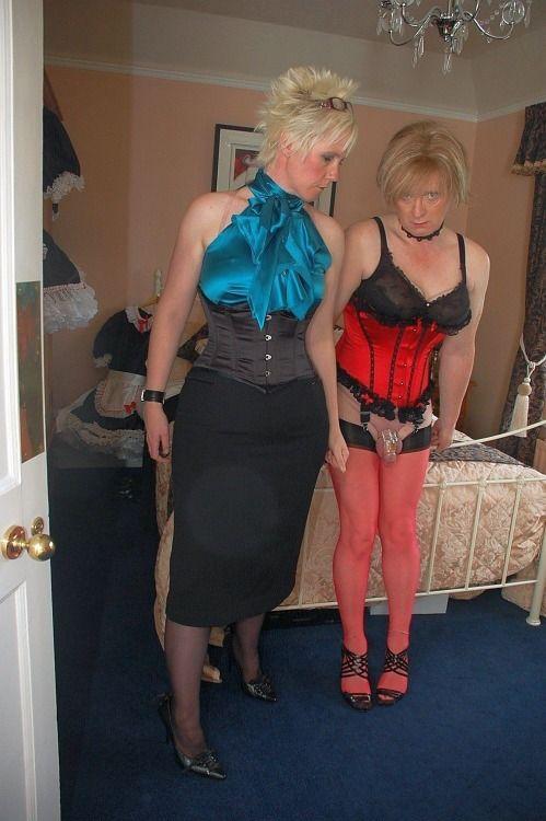 Transvestite mistress dom