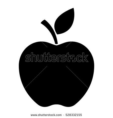 Apple, vector apple illustration