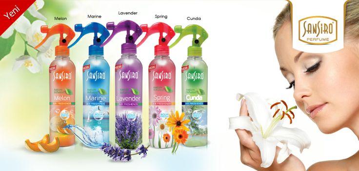 Sansiro'dan Yeni Oda Parfümleri Air Freshener Serisi  Sansiro Oda Parfümleri kalıcı kokusuyla evinizde, büronuzda, yaşadığınız her ortamda bambaşka bir tazelik ve ferahlık verir.  http://www.e-sansiro.com/Sansiro-Oda-Parfumleri,LA_584-2.html