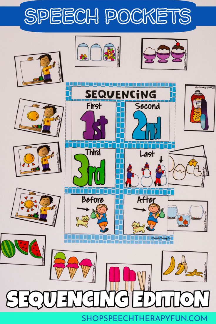 44 best Sequencing images on Pinterest | Speech therapy ...