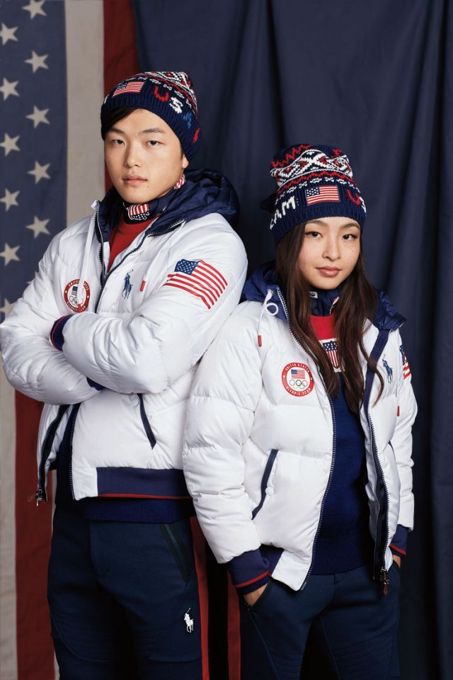 "Nicknamed ""Shib Sibs,"" siblings Alex and Maia Shibutani are destined for stardom on the Olympic ice, competing in the ice dance event in the figure-skating category. (Photo: courtesy of Ralph Lauren)"