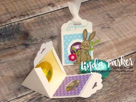 Triangular Easter Treat Box
