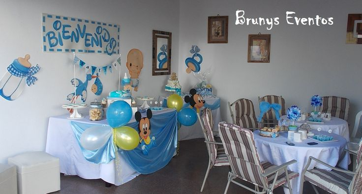 Baby Shower integramente decorado, personalizado por Brunys ...