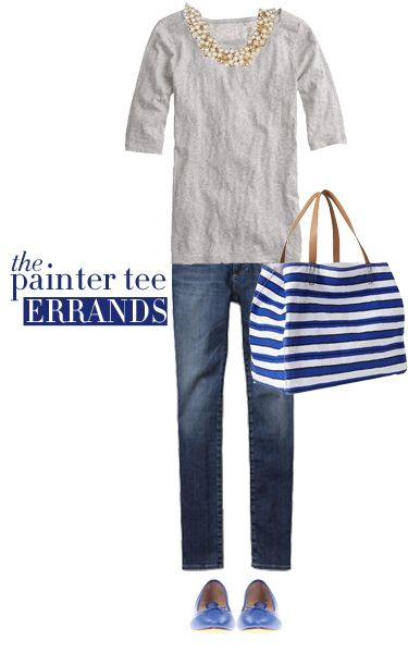 The J. Crew Painter Tee | Running Errands