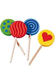 HABA - Erfinder für Kinder - Lutscher - Knabbereien + Süßigkeiten - Kaufladen - Spielzeug & Möbel