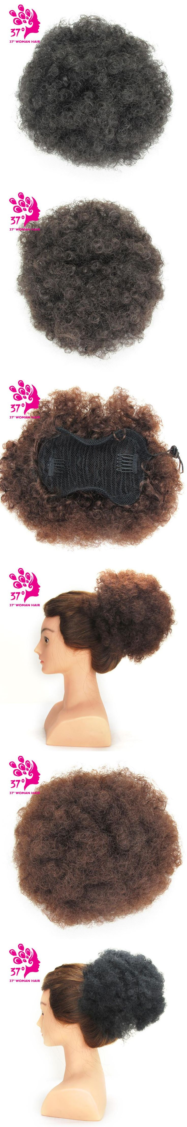 Dream Diana Synthetic hair Curly Chignon Bun Hairpiece Clip-In Natural Color Low Temperature Fiber