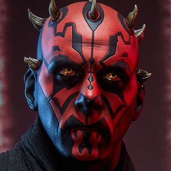 The Exclusive Darth Maul Premium Format Figure is available at Sideshow.com for fans of Star Wars Episode I The Phantom Menace, and the Sith.